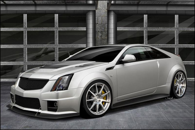 2012 Hennessey Twin Turbo V1000 CTS-V Coupe Frontside