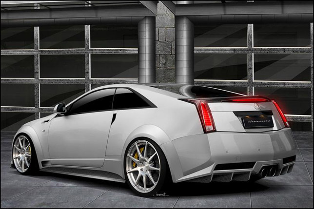 2012 Hennessey Twin Turbo V1000 CTS-V Coupe Backside