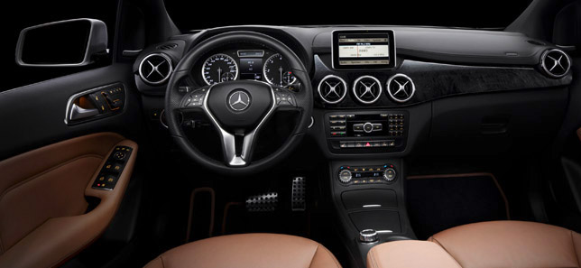 2012 Mercedes-Benz B-Class Interior Dashboard