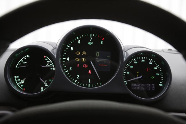 2012 RUF CTR3 Gauges