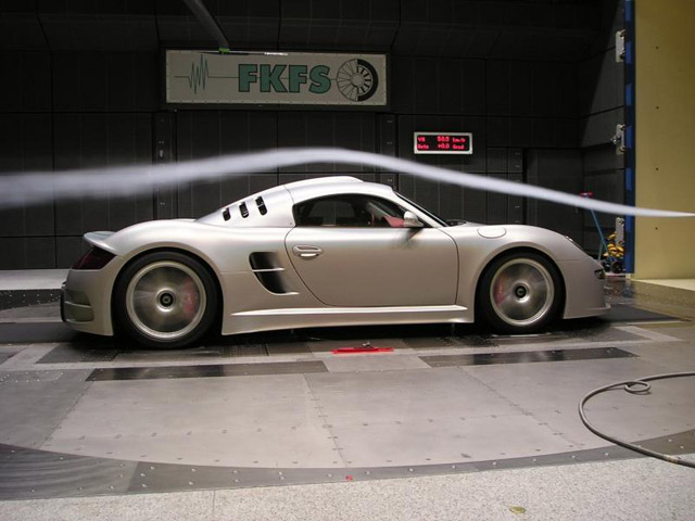 2012 RUF CTR3 Wind tunnel