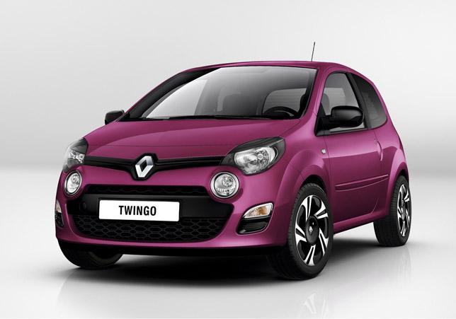 2012 Renault Twingo Front