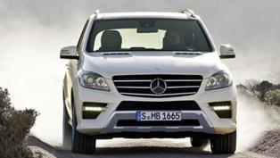 2012 Mercedes M-Class Price - 46 200 EUR