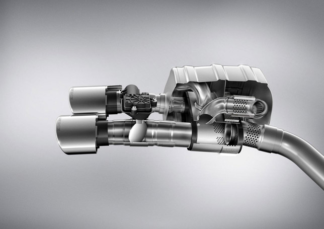 AMG M152 V8 Exhaust