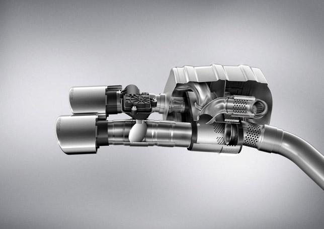 AMG M152 V8 Exhaust