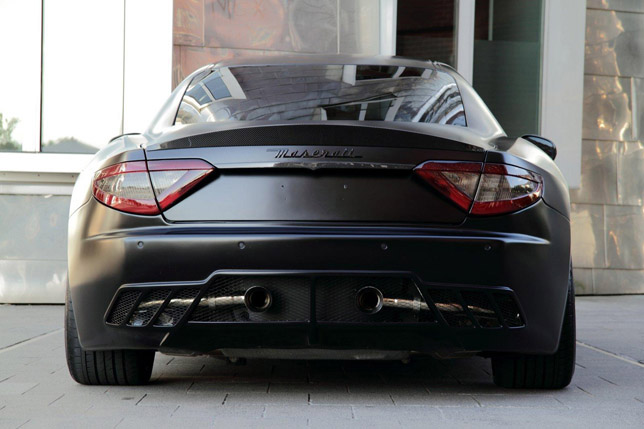 Anderson Germany Maserati GranTurismo S Superior Black Edition Rear