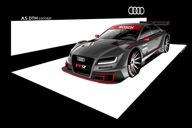 Audi A5 DTM Concept front