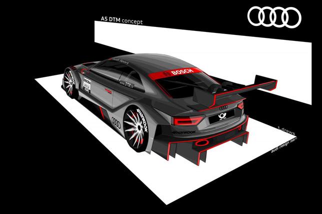 Audi A5 DTM Concept Rear
