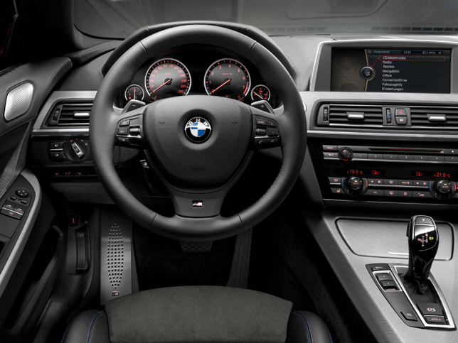 BMW 6-Series F12 M-package interior