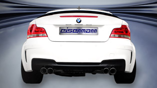 eisenmann sport exhaust system for the bmw 1-series m coupe