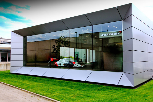 McLaren's First Showroom in Germany Outside