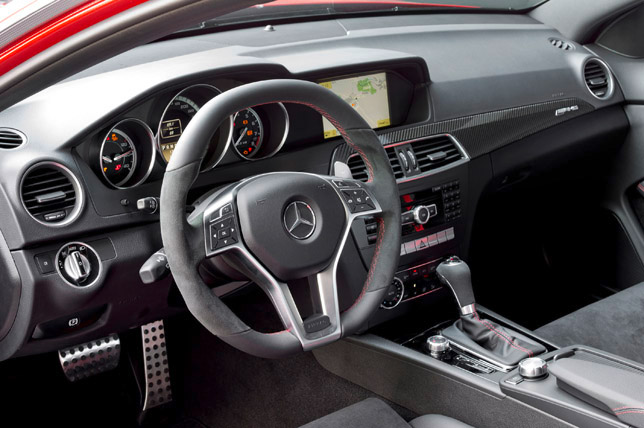 Mercedes-Benz C 63 AMG Coupe Black Series Interior