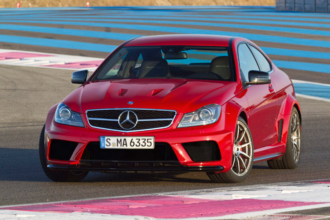 Mercedes-Benz C 63 AMG Coupe Black Series Front