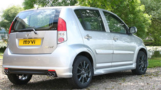 Perodua Myvi Jet and Sport Silver Limited Edition
