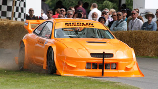 Sprint Series Toyota Celica GT4 - fastest at the 2011 GoodWood