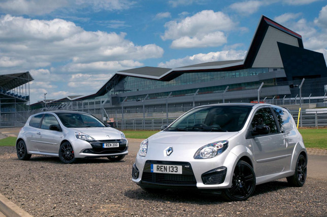 Twingo Renaultsport 133 Silverstone GP and Clio Renaultsport 200 Silverstone GP  Renault