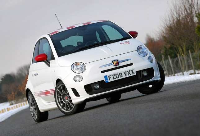Abarth 500 esseesse Front