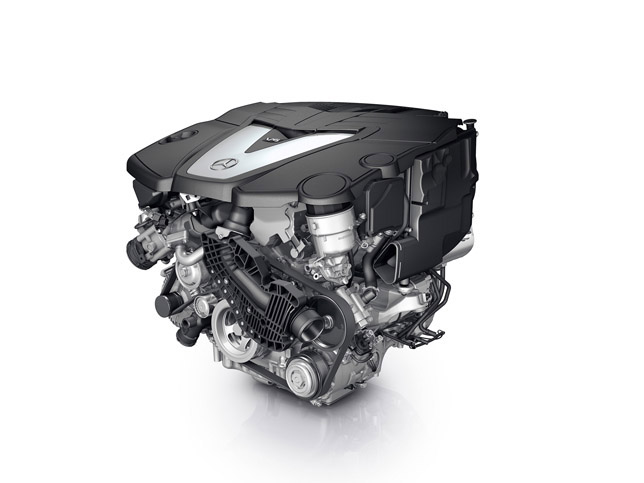 2010 Mercedes-Benz S350 BlueTE Engine