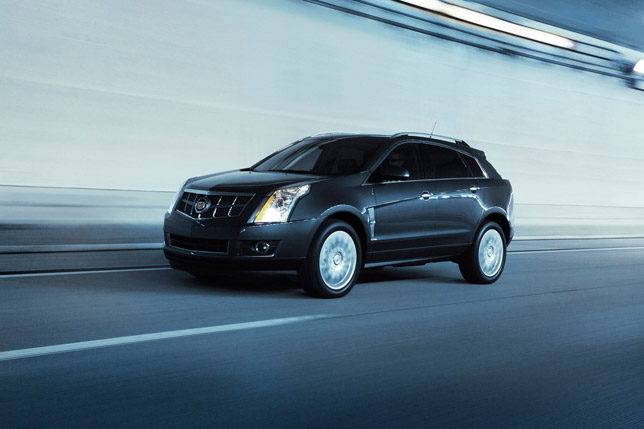 2011 Cadillac SRX FrontSide