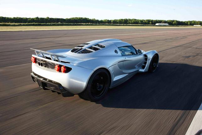 2011 Hennessey Venom GT RearSide