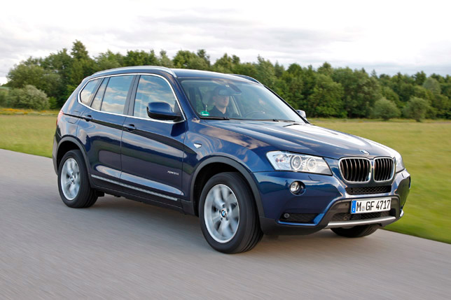 2012 BMW X3 FrontSide