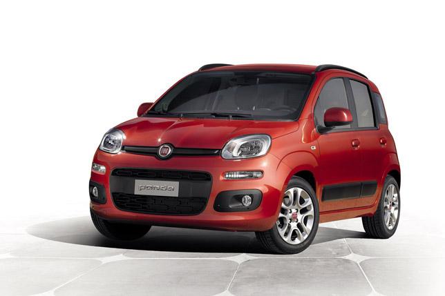 2012 Fiat Panda FrontSide