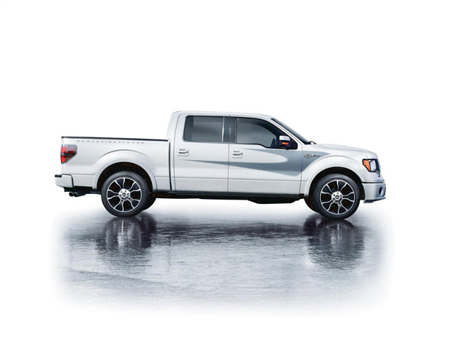 2012 Ford F-150 Harley Davidson Edition Side