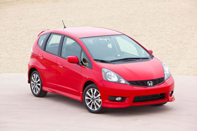 2012 Honda Fit FrontSide