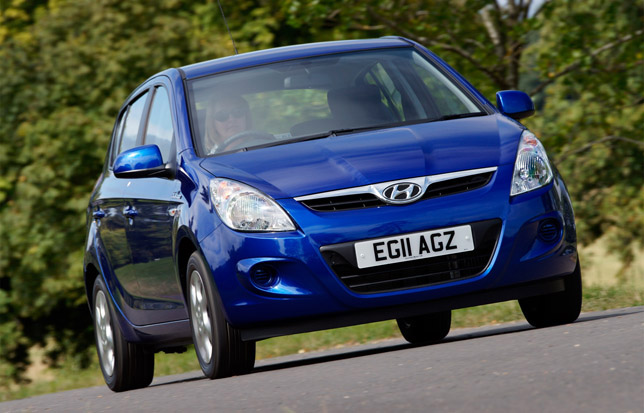 2012 Hyundai i20 Blue Front