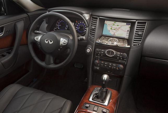 2012 Infiniti FX Facelift Interior