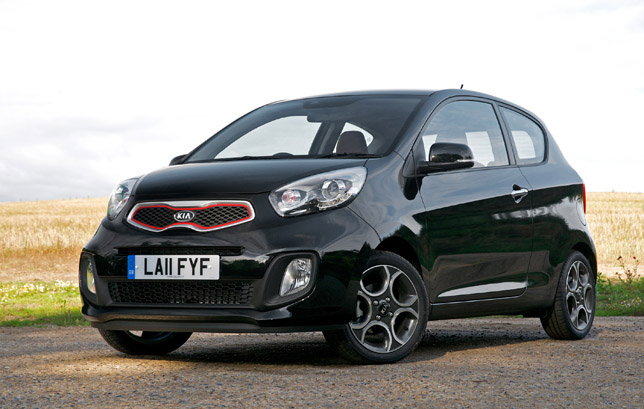2012 Kia Picanto 3-door FrontSide