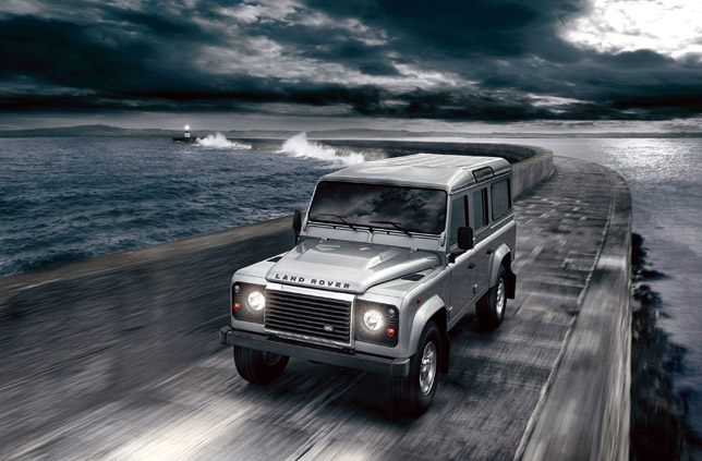 2012 Land Rover Defender Front