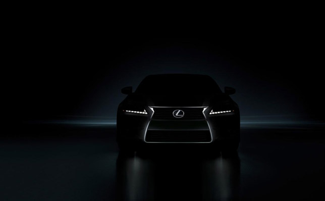 2012 Lexus GS [teaser] Front