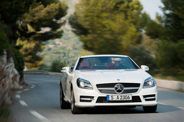 2012 Mercedes SLK 250 CDI Front