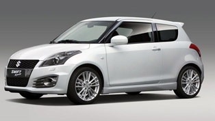 2012 suzuki swift sport ahead of frankfurt motor show