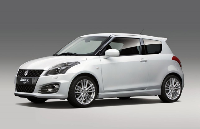 2012 Suzuki Swift Sport FrontSide