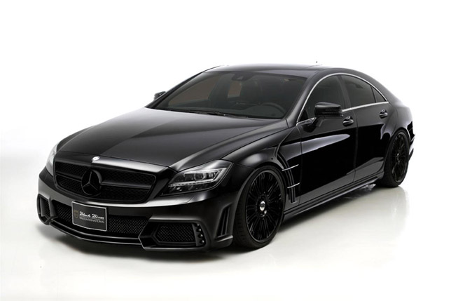 2012 Wald Mercedes-Benz CLS Black Bison Front Side