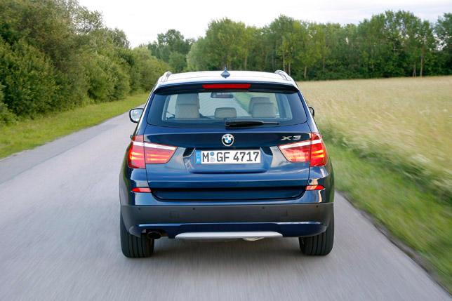 2012 BMW X3 Rear