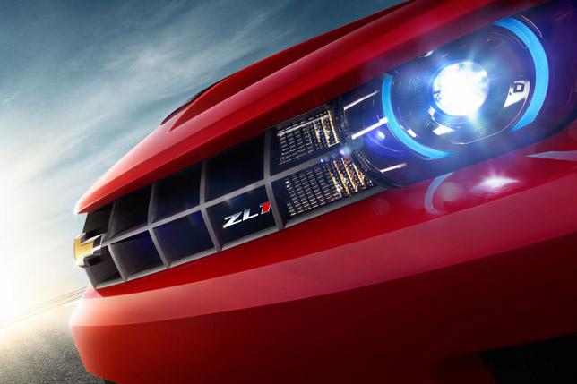 2012 Chevrolet Camaro ZL1 Front Detail