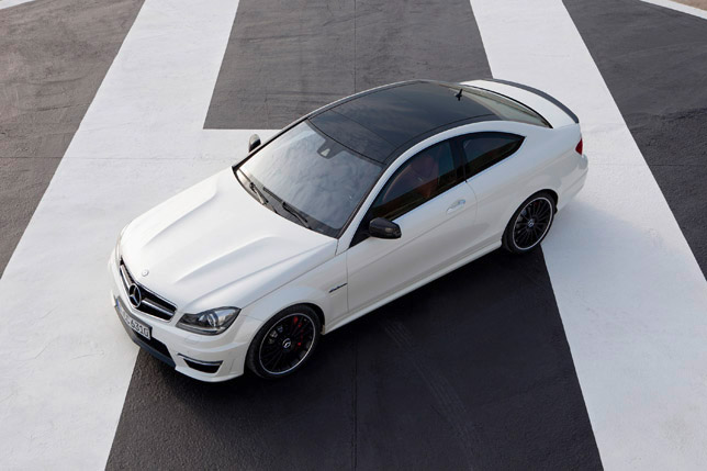 2012 Mercedes C63 AMG Coupe Up