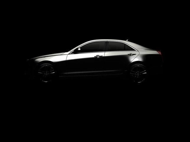 2013 Cadillac ATS [teaser] Side