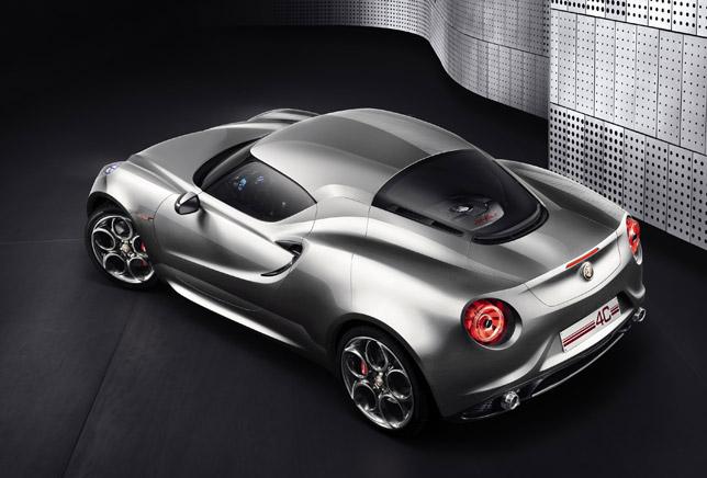 Alfa 4C Concept RearSide