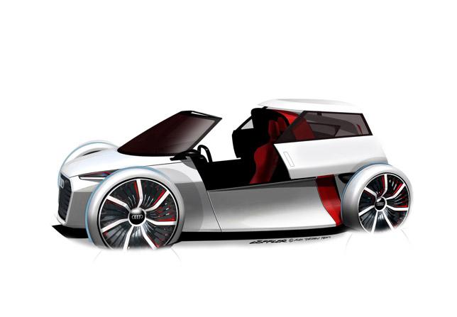 Audi Urban Concept Side