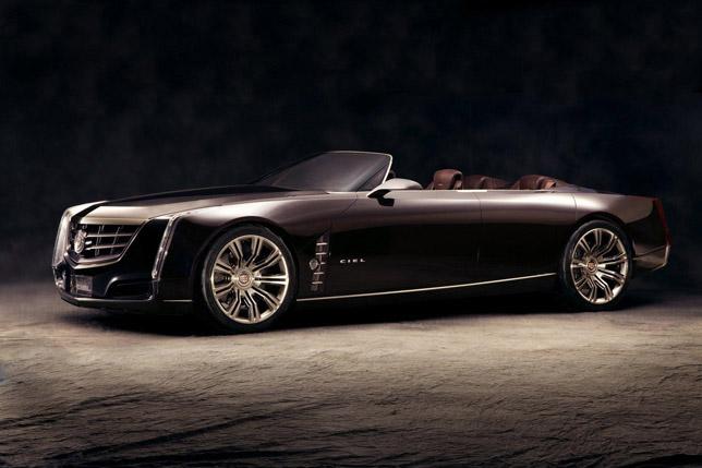 Cadillac Ciel Concept FrontSide
