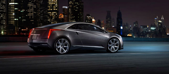 2011 Cadillac ELR BackSide