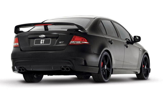 FPV GT Black Special Edition RearSide