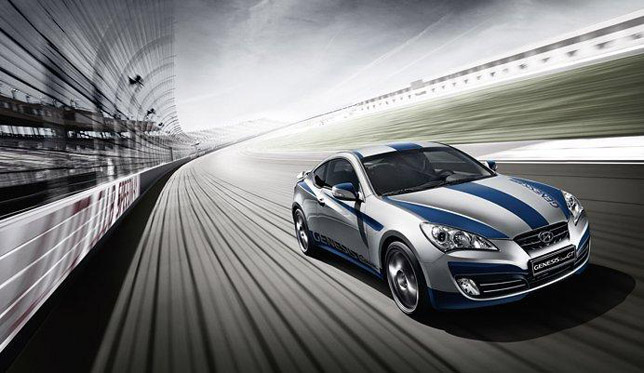 Hyundai Genesis Coupe GT Limited Edition FrontSide