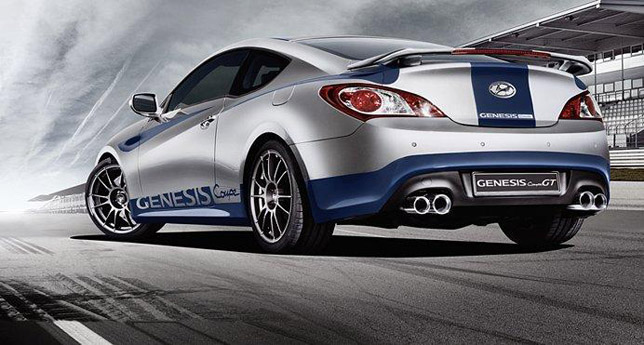 Hyundai Genesis Coupe GT Limited Edition RearSide