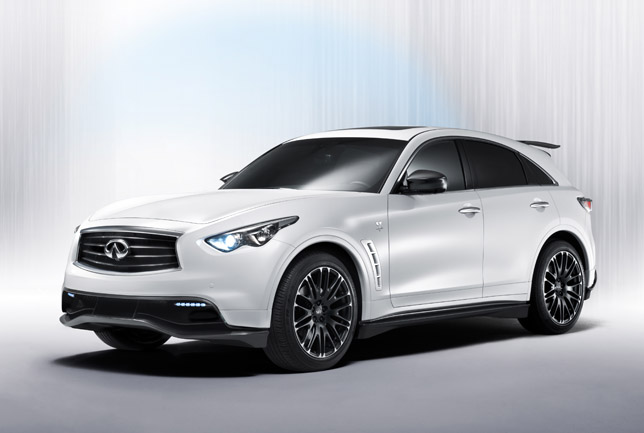 Infiniti FX50 Performance Concept FrontSide
