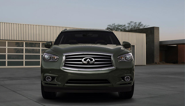 Infiniti JX Concept Front